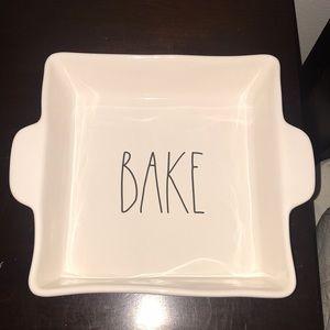 New Rae Dunn Ceramic Bake Baking Dish
